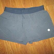 Womens Asics Athletic Running Shorts W/ Built N Liner Sz M Md Med Photo