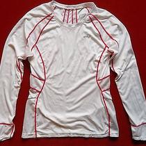 Womens Asics Cycle Top Sz M  Training Cycling Bike Running Fitness Shirt  Photo