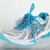 Womens Asics Gel Exalt Athletics White/turquoise  Running Sneakers Sz. 5 New Photo