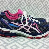 Womens Asics Gel-Flux 3 T664n  Running Athletic Shoes Size 8.5 Purple/pink/white Photo