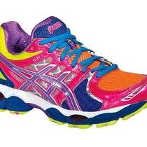 Womens Asics Gel Nimbus 14 Lite Bright Grape Pink Running Shoes Nib Sz 7 Photo