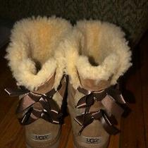 Womens Bailey Bow Uggs Brown Size 9 Photo