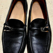 Womens Bally Decade Shoes Size 5 (35 1/2 Eu) Slip on Leather Loafers Vintage Photo