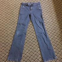 Womens Banana Republic Size 26 Wide Leg Trouser Jean Photo