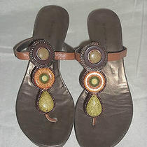 Womens Bandolino Broadley Thong Sandals Size 8 M New S10 Photo