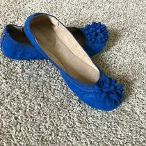 Womens Bandolino Faux Suede Flats Blue Size 9 Photo