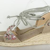 Womens Bandolino Stylish Fabric Wedges/sandals Shoes Sz. 9 M Photo