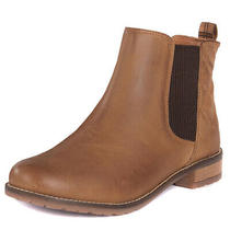 Womens Barbour Abigail Elastic Fashion Winter Closed Toe Chelsea Boots Us 5-10 Photo