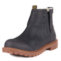 Womens Barbour Hackfall Winter Hiking Faux Fur Chelsea Leather Boots Us 4.5-9.5 Photo