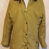Womens Barbour U.s. Sz 6 Single Vent Snap Button Jacket High End Apperal Fashio Photo