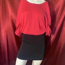 Womens Bcbg Dress Size Medium Pink & Black  Photo