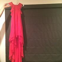 Womens Bcbg Red Dress Silk Size Xs Photo