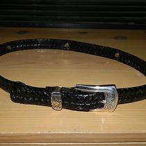Womens Belt Size Medium 30 Brighton Belt Size Medium Black Brighton Belt Size 30 Photo