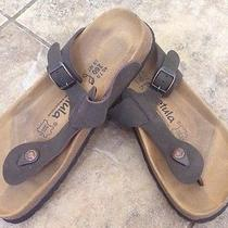 Womens Betula by Birkenstock Brown Rap Thong Flip Flop Slide Sandals Sz 40 Us 9 Photo