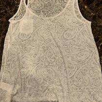 Womens/big Girls Top h&m Size Xs White Good Condition Photo
