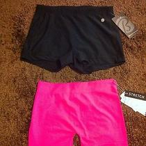 Womens Bike Shorts 2 Pairs Nwt Photo