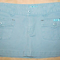 Womens Billabong Mini Skirt  Teal  Size 1 Photo