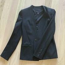Womensblack Blazer Madewell Size 4barely Worn. Great Conditionretail 168 Photo