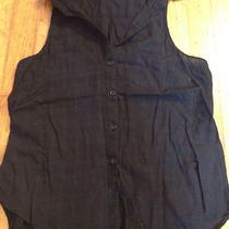 Womens Black Button-Up Tank Photo