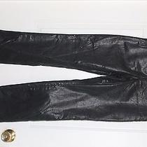 Womens Black Express Stretch Fit Pants Size 3/4 Photo