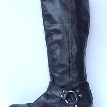 Womens Black Frye 'Smith' Harness Tall Boot Size 9 B  Photo