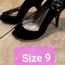 Womens Black High Heels Us Size 9 Photo