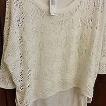 Womens Blouse Grace Elements   Nwt Retailed Price 70.00 Size Med Color White Photo