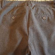 Womens Body by Victoria the Christie Fit Pants Stretch Brown Sz 2 Tall 28.5x34 Photo