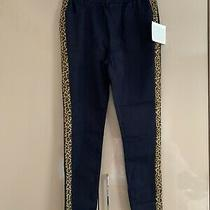 Womens Brand New With Tags Bnwt Avon Navy Leopard Jeggings Leggings Uk 10 12 Photo