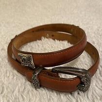 Womens Brighton Belt Brown Leather Size M Photo