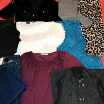 Womens Bundle Clothes-Dress Cardigan Blouse Jeans Jacket- Uk-12 Eur-40 -10 Items Photo