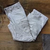 Womens Burton Snowboard Pants Cargo White Small Photo