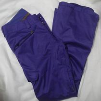 Womens Burton Snowboarding Ski Pants Snowboard Skiiing Purple Dry Ride Photo