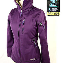 Womens Burton Softshell Jacket Dryride Coat Size Small (S) Purple    Amazing Photo