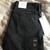 Womens Calvin Klein Jeans Ultimate Skinny Black Size 10 L30. Nwt Photo