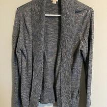 Womens Cardigan Sweater Xl Heathered Blue  Photo