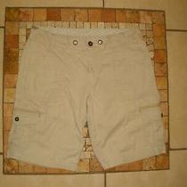 Womens Carhartt Wb053 Stn Stone No Drawstring Cargo Shorts 8 Reg Photo