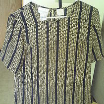 Womens Christie & Jill Graphic  Top  Bluse M Photo