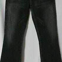 Womens Citizens of Humanity Pop Art 073 Kelly Bootcut Jeans Size 29 Black 47 Photo