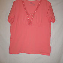 Womens Classic Elements  Streght Blouse Shirt   Size Xl    Cute  Photo
