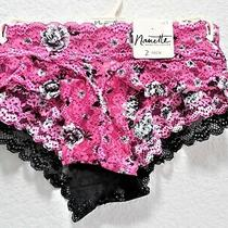 Womens Clothes Size S/5 2-Pack Cute and Sexy Lace Panties Nwt 20 Nanette Lepore Photo