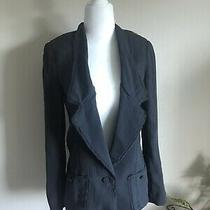 Womens Club Monaco 100% Silk Blazer Jacket Size 0 New Photo
