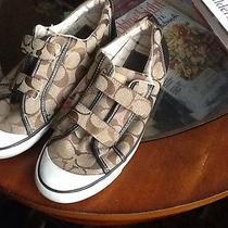 Womens Coach Sneakers Size 7.5 Euc Photo