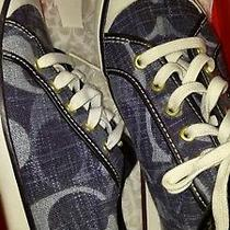 Womens Coach Sneakers Size 9 Photo