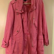 Womens Coat/jacket Bagatelle Size L Hot Pink Excellent Condition Photo