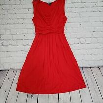 Womens Cocktail Special Event Wedding Guest Dress Red Size Xs Photo