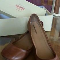 Womens Cognac Mossimo Ballerina Flats Size 11 Photo
