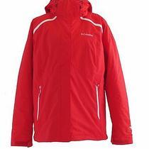 Womens Columbia Arctic Trip Ii Exchange Jacket Red  180 Omni Heat Nwt Xl Photo