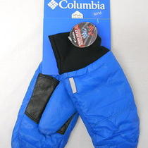 Womens Columbia Blue Apogee Arch Snow Ski Mittens-Size Medium New Photo