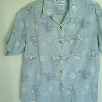 Womens Columbia Button Down Shirtgreat for Outdoor Activitiesmcotton Photo